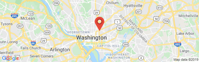 Google map image of Washington, DC 20001, USA